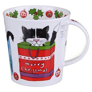 Christmas Cats Cairngorm shape Mug