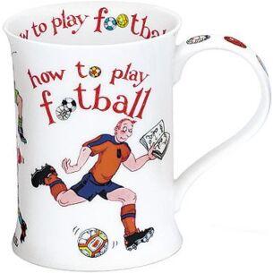 How to Play Football Cotswold shape Mug