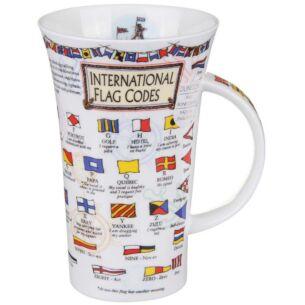 Flag Codes Glencoe shape Mug