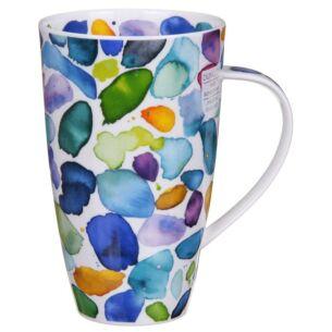 Blobs! Blue Henley Shape Mug