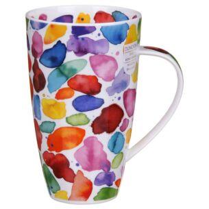 Blobs! Red Henley Shape Mug