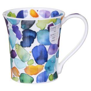 Blobs! Blue Jura Shape Mug