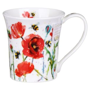 Busy Bees Poppy Jura Shape Mug