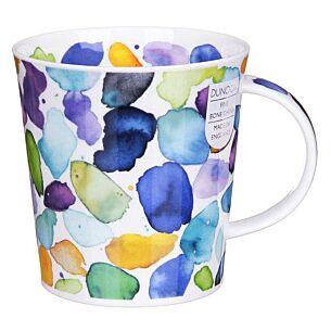 Blobs! Blue Lomond Shape Mug