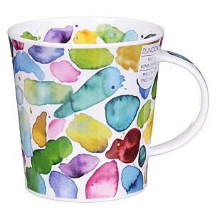 Blobs! Green Lomond Shape Mug