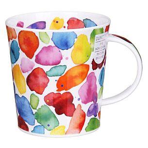 Blobs! Red Lomond Shape Mug