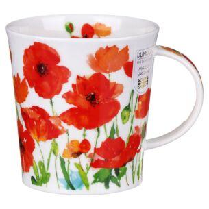 Beau Jardin Red Lomond Shape Mug