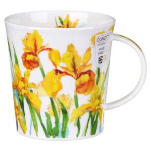 Beau Jardin Yellow Lomond Shape Mug