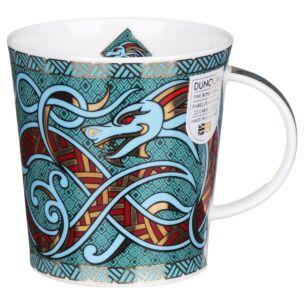Dragons Turquoise Lomond Shape Mug