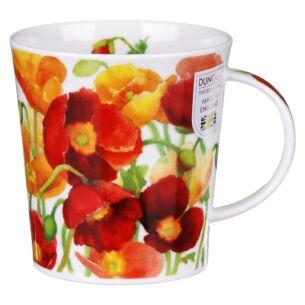 Kelmscott Red Lomond Shape Mug