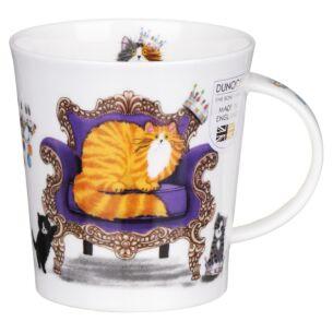 Regal Cats Ginger Lomond Shape Mug