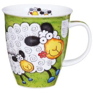 Barmy Farmy Sheep Nevis Shape Mug
