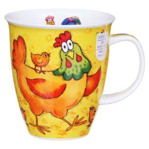 Barmy Farmy Chicken Nevis Shape Mug