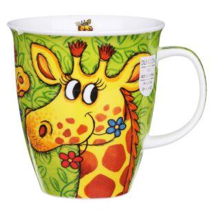Safari Giraffe Nevis Shape Mug