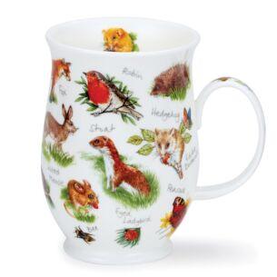 Animal Life Hedgehog Suffolk Shape Mug