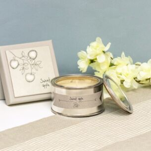 East of India Sweet Apple Boxed Candle