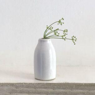 Little Pottery Milk Bottle