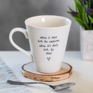 When it Rains Porcelain Mug