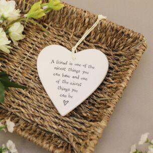 A friend is one… Porcelain Heart