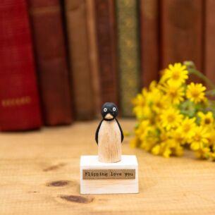 Penguin/Flipping Love You Wood Scene