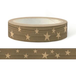Christmas Stars Wide Adhesive Tape – 50m