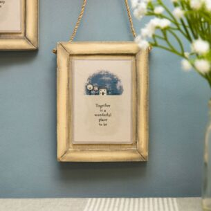 'Together Is A Wonderful Place To Be' Grey Frame