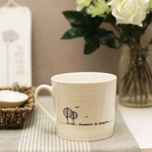 Prosecco in Disguise Wobbly Porcelain Boxed Mug