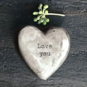 'Love You' Heart Token