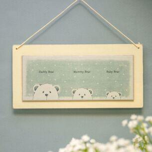 'Daddy Bear - Mummy Bear - Baby Bear' – Sign