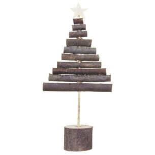 East of India Large Wooden Stick Tree Decoration