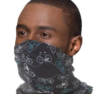 Snood with Filter Pocket – Black Bicycles