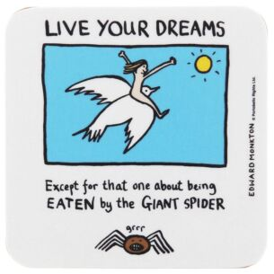 Live Your Dreams Coaster