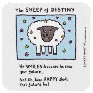 The Sheep of Destiny Coaster