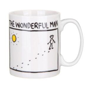 Wonderful Man Mug