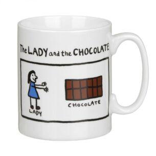 The Lady and the Chocolate Mug