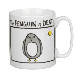 The Penguin of Death Mug