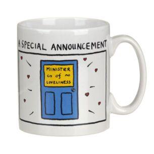 A Special Announcement Mug