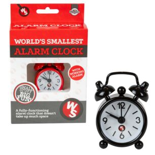 The World's Smallest Alarm Clock