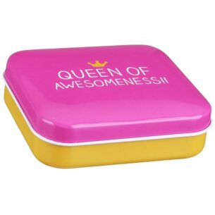 Queen of Awesomeness Pocket Tin
