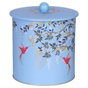 Blue Chelsea Biscuit Barrel