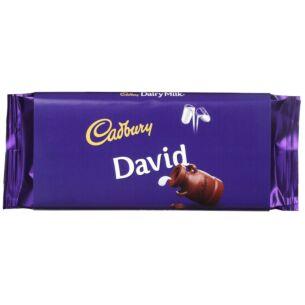'David' 110g Dairy Milk Chocolate Bar