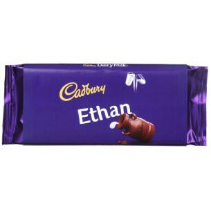 'Ethan' 110g Dairy Milk Chocolate Bar