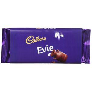 'Evie' 110g Dairy Milk Chocolate Bar