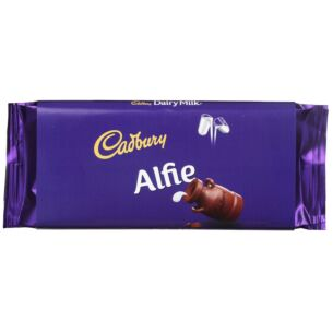 'Alfie' 110g Dairy Milk Chocolate Bar
