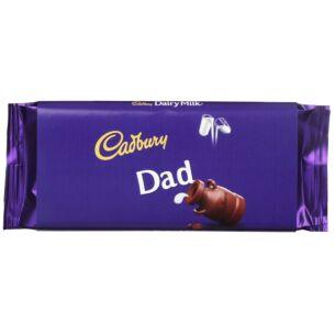 Cadbury 'Dad' 110g Dairy Milk Chocolate Bar