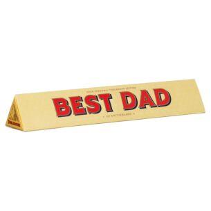 Toblerone 'Best Dad' 100g Chocolate Bar