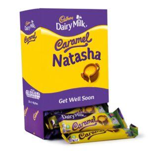 Personalised Favourites Caramel Chocolate Bar Hamper