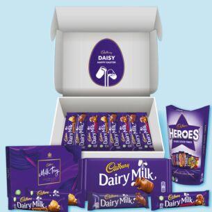 Personalised Happy Easter Chocolate Lovers Hamper