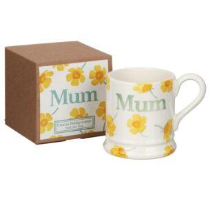 Buttercup Scattered Mum Half Pint Boxed Mug
