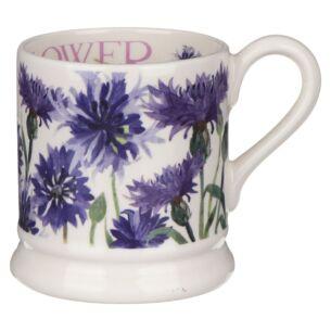 Flowers Cornflower Half Pint Mug